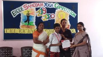 Second ESA Yoga Competition 2019 - 2020